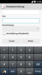 Huawei Ascend Y530 - E-Mail - Konto einrichten - Schritt 15