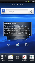 Sony Ericsson Xperia Arc S - Software - Update - 1 / 4