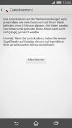 Sony Xperia Z2 - Fehlerbehebung - Handy zurücksetzen - 9 / 11