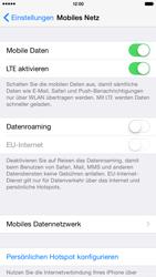 Apple iPhone 6 Plus iOS 8 - Netzwerk - Netzwerkeinstellungen ändern - Schritt 4