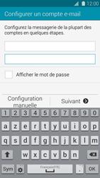 Samsung Galaxy S 5 - E-mail - configuration manuelle - Étape 6