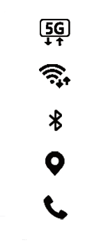 Samsung Galaxy A51 5G - Premiers pas - Comprendre les icônes affichés - Étape 15