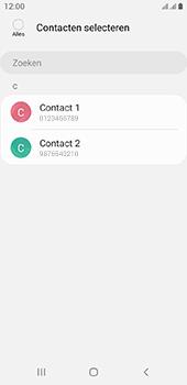 Samsung galaxy-a6-sm-a600fn-ds-android-pie - Contacten en data - Contacten kopiëren van toestel naar SIM - Stap 9