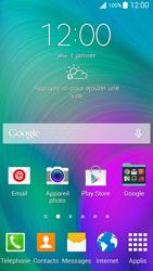 Samsung Galaxy A5 (A500FU) - Sécuriser votre mobile - Activer le code de verrouillage - Étape 1