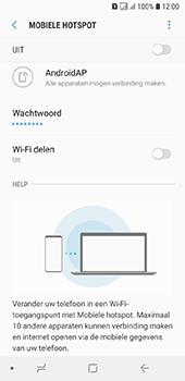 Samsung galaxy-a6-sm-a600fn-ds - WiFi - Mobiele hotspot instellen - Stap 7