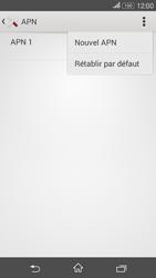 Sony E2003 Xperia E4G - Internet - configuration manuelle - Étape 10