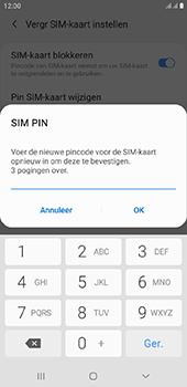 Samsung Galaxy J6 Plus - Beveiliging - pas de pincode voor je simkaart aan - Stap 11