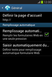 Samsung S6810P Galaxy Fame - Internet - Configuration manuelle - Étape 23
