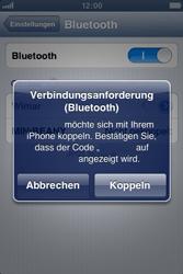Apple iPhone 3GS - Bluetooth - Verbinden von Geräten - Schritt 8