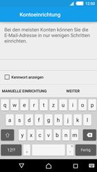 Sony Xperia M4 Aqua - E-Mail - Konto einrichten - 7 / 22