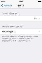 Apple iPhone 4 S - E-Mail - Konto einrichten - 21 / 29