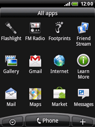 HTC A3333 Wildfire - E-mail - Sending emails - Step 3