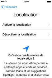 Apple iPhone 4S (iOS 8) - Premiers pas - Créer un compte - Étape 10