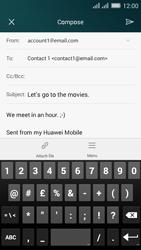 Huawei Y635 Dual SIM - E-mail - Sending emails - Step 11
