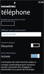 Nokia Lumia 800 - Messagerie vocale - Configuration manuelle - Étape 8