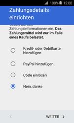 Samsung Galaxy Xcover 3 VE - Apps - Konto anlegen und einrichten - 19 / 22