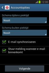 Samsung S6790 Galaxy Fame Lite - e-mail - handmatig instellen - stap 20