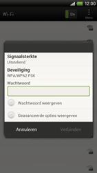 HTC S720e One X - WiFi - Handmatig instellen - Stap 8