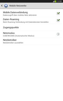 Samsung N5100 Galaxy Note 8-0 - Ausland - Auslandskosten vermeiden - Schritt 8