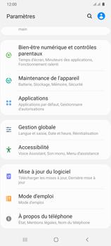 Samsung Galaxy A31 - Aller plus loin - Mettre à jour le logiciel interne de votre mobile - Étape 5