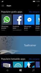 Microsoft Lumia 650 - apps - app store gebruiken - stap 7