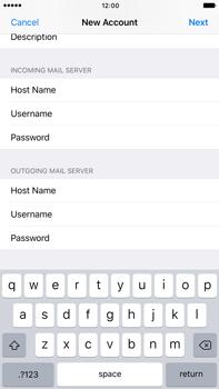 Apple Apple iPhone 6 Plus iOS 10 - E-mail - Manual configuration - Step 15