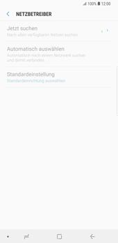 Samsung Galaxy S9 Plus - Netzwerk - Manuelle Netzwerkwahl - Schritt 8