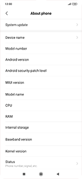 Xiaomi RedMi Note 7 - Software - Installing software updates - Step 4