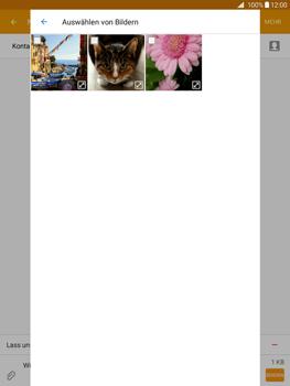Samsung Galaxy Tab A 9.7 - MMS - Erstellen und senden - 0 / 0