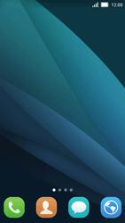 Huawei Y5 - Startanleitung - Installieren von Widgets und Apps auf der Startseite - Schritt 3