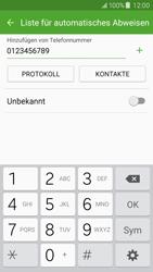 Samsung J500F Galaxy J5 - Anrufe - Anrufe blockieren - Schritt 10