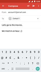 Nokia 3 - Android Oreo - E-mail - Sending emails - Step 9