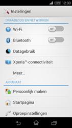 Sony Xperia E3 - Internet - aan- of uitzetten - Stap 4