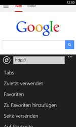 Nokia Lumia 925 - Internet und Datenroaming - Verwenden des Internets - Schritt 7