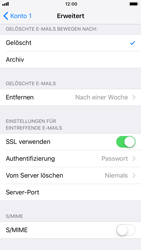 Apple iPhone 6s iOS 11 - E-Mail - Manuelle Konfiguration - Schritt 26