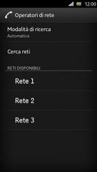 Sony Xperia U - Rete - Selezione manuale della rete - Fase 9