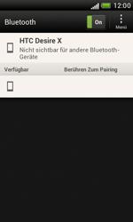 HTC Desire X - Bluetooth - Verbinden von Geräten - Schritt 6