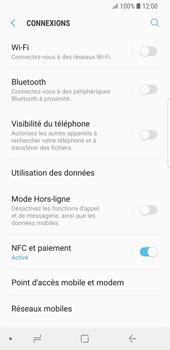 Samsung Galaxy S9 - Internet et connexion - Accéder au réseau Wi-Fi - Étape 5