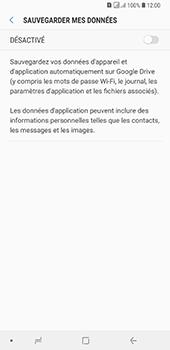Samsung Galaxy A7 (2018) - Données - créer une sauvegarde avec votre compte - Étape 7