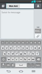 LG G2 - Contact, Appels, SMS/MMS - Envoyer un SMS - Étape 8