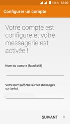 Crosscall Trekker M1 Core - E-mail - Configuration manuelle (yahoo) - Étape 10