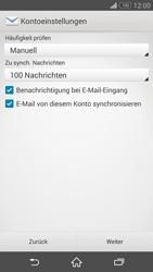 Sony D5803 Xperia Z3 Compact - E-Mail - Konto einrichten - Schritt 17
