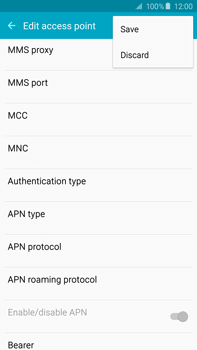 Samsung N920 Galaxy Note 5 - MMS - Manual configuration - Step 13