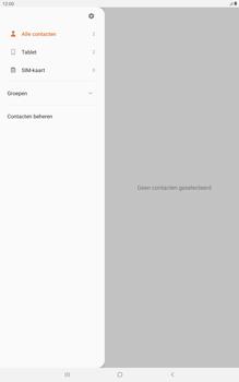 Samsung galaxy-tab-a-10-5-sm-t595-android-pie - Contacten en data - Contacten kopiëren van toestel naar SIM - Stap 5