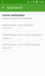 Samsung Galaxy J1 (2016) - Anrufe - Rufumleitungen setzen und löschen - 12 / 13