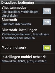 HTC F3188 Smart - Internet - handmatig instellen - Stap 5