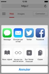 Apple iPhone 4s iOS 8 - Internet - Navigation sur Internet - Étape 5