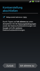 HTC S720e One X - Apps - Konto anlegen und einrichten - Schritt 11