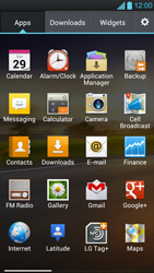 LG P880 Optimus 4X HD - E-mail - Manual configuration - Step 3