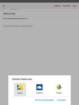 Samsung Galaxy Tab A - E-mails - Envoyer un e-mail - Étape 13
